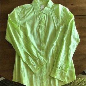 "J Crew "" The Perfect Shirt"""
